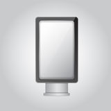 Vertical light box Royalty Free Stock Image