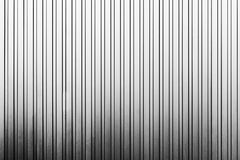 The vertical line texture of metal sheet wall Stock Image