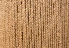 Vertical linen string Stock Photography