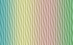 Vertical lines angles geometric abstract background illustration in pastel shades of blue yellow pink and green. Computer generated geometric abstract background stock illustration