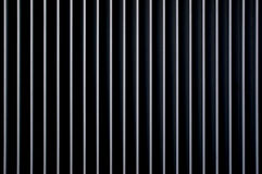 Vertical lines close up white and black stripe Stock Photography