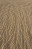 Vertical Lines of Sand Waves Royalty Free Stock Images