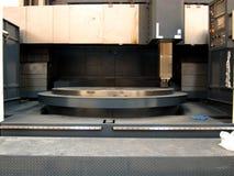Vertical machine lathe Stock Photo