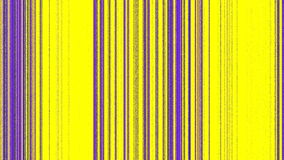 Vertical Magenta Purple Lines on Yellow Royalty Free Stock Photo