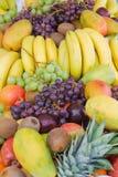 Vertical mezclada de la fruta Foto de archivo