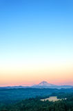 Vertical Mount Hood Stock Photography