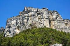 Vertical mountain . Rock climbing the steep cliffs of the mountains . Vertical mountain . Rock climbing the steep cliffs of the mountains Royalty Free Stock Image