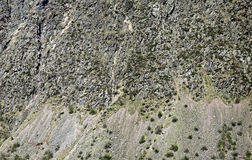 Vertical mountain slope background Royalty Free Stock Photos