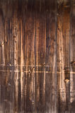 Vertical natural worn wood Royalty Free Stock Photography