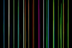 Vertical neon lines illustration background Royalty Free Stock Images