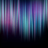 Vertical Northern lights Royalty Free Stock Photos