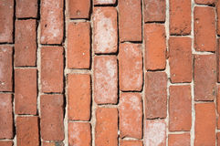 Vertical old brickwall Royalty Free Stock Image