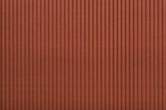 Vertical ondulado do fundo do teste padrão do cartão no marrom Imagem de Stock Royalty Free