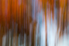 Vertical orange and blue blur Royalty Free Stock Photos