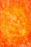 Vertical orange watercolor abstract Royalty Free Stock Image