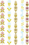 Vertical ornament Stock Images