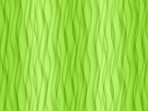 Vertical overlapping fresh lime green abstract wavy curves wallpaper background stock image