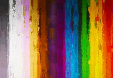 Vertical painting color lines illustration background Royalty Free Stock Image