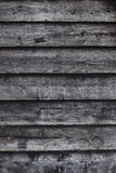 Vertical part of old wooden barn wall Stock Image