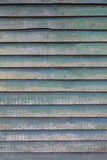 Vertical part of shed wall consisting of old wooden planks with Stock Photos