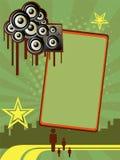 Vertical party banner Stock Photos
