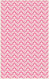 Vertical pink floral pattern Royalty Free Stock Photo