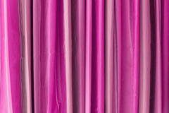 Vertical Pink Tone Curtain Royalty Free Stock Image