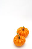 Vertical Pumpkins over Stock Photo