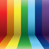 Vertical rainbow Royalty Free Stock Photography
