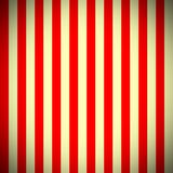 Vertical Red and Beige Stripes Pattern Stock Photography