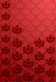 Vertical red glamour pattern Royalty Free Stock Photography