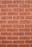 Vertical roja de la pared de ladrillo Foto de archivo