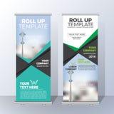 Vertical roulez la conception de calibre de bannière pour annoncent et Adverti illustration stock
