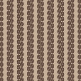 Vertical row of coffee beans seamless pattern 1. Decorative seamless pattern with vertical row of coffee grains Stock Images