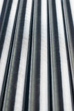 Vertical row of metal springs Royalty Free Stock Photos