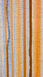 Vertical Rust Stripes on Metal Background Stock Photography