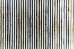 Vertical rustic steel pattern. Vertical rustic corrugated galvanize steel pattern Royalty Free Stock Images
