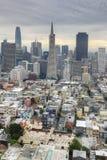 Vertical San Fransisco centrum miasta Obrazy Stock