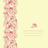 Vertical seamless pattern Royalty Free Stock Image