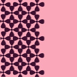 Vertical seamless pattern. On a pink background. Pattern for wedding, marriage, bridal, birthday, Vector illustration Stock Photos