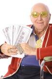 Vertical sendo proxeneta do grandpa Fotos de Stock Royalty Free