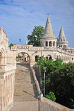 Vertical shot of Fisherman bastion Royalty Free Stock Photography