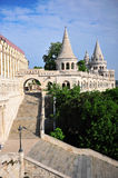 Vertical shot of Fisherman's bastion Stock Photography