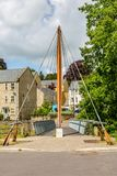 Jenson Button Bridge in Frome, Somerset Stock Image