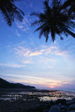 Vertical shot of Nai Yang beach Royalty Free Stock Photos