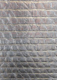 Vertical Silver Bubble Wrap Background Stock Photos