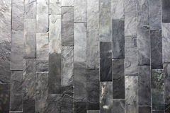 Vertical Slate Wall Texture Royalty Free Stock Photography