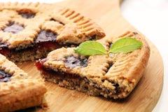 Vertical slice of pie tart cake dessert sweet treat.  stock photo