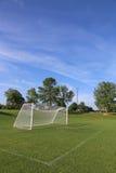 Vertical Soccer Field Stock Image