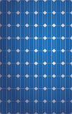 Vertical Solar panel pattern Royalty Free Stock Photo
